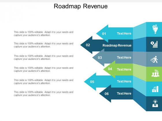 Roadmap Revenue Ppt PowerPoint Presentation Outline Graphics Download Cpb