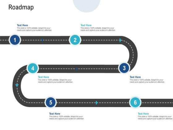 Roadmap Six Stage Process Ppt PowerPoint Presentation Icon Example