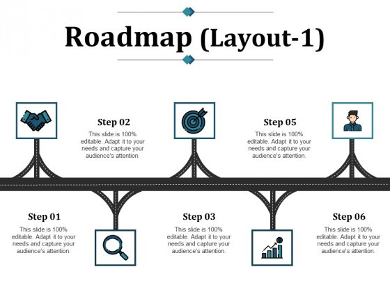 Roadmap Template 1 Ppt PowerPoint Presentation Ideas Icon