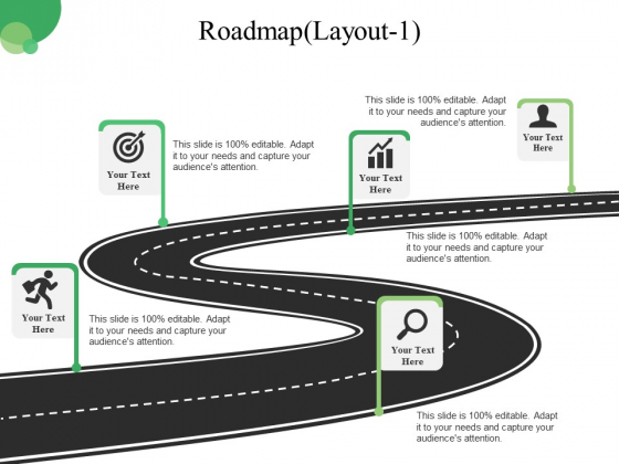 Roadmap Template 1 Ppt PowerPoint Presentation Inspiration Slideshow