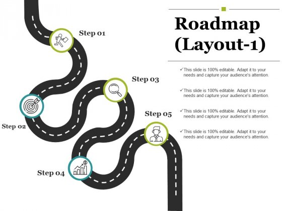 Roadmap Template 1 Ppt PowerPoint Presentation Professional Pictures