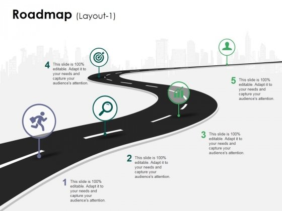Roadmap Template 1 Ppt PowerPoint Presentation Show Deck