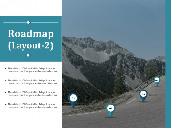 Roadmap Template 2 Ppt PowerPoint Presentation File Visual Aids