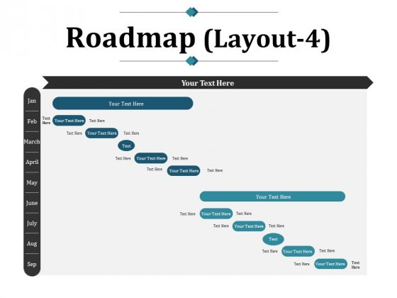 Roadmap Template 4 Ppt PowerPoint Presentation Infographic Template Template