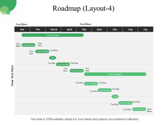 Roadmap Template 4 Ppt PowerPoint Presentation Outline Template