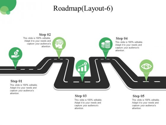 Roadmap Template 6 Ppt PowerPoint Presentation Icon Graphic Tips