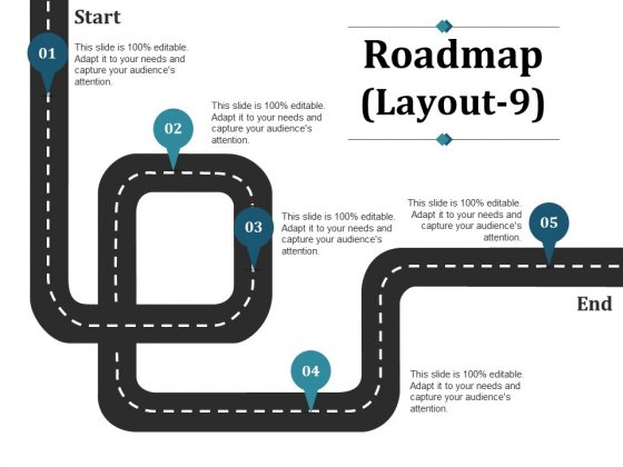 Roadmap Template 9 Ppt PowerPoint Presentation Outline Graphics Example