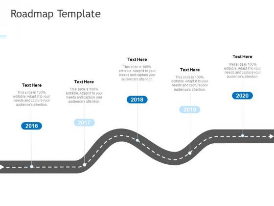 Roadmap Template Ppt PowerPoint Presentation Icon Slide Portrait PDF
