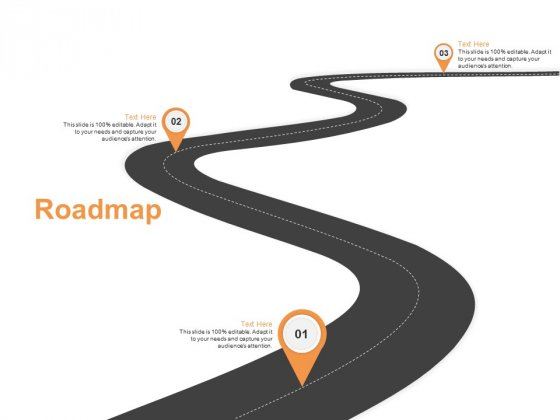 Roadmap Three Stage Ppt PowerPoint Presentation Gallery Templates