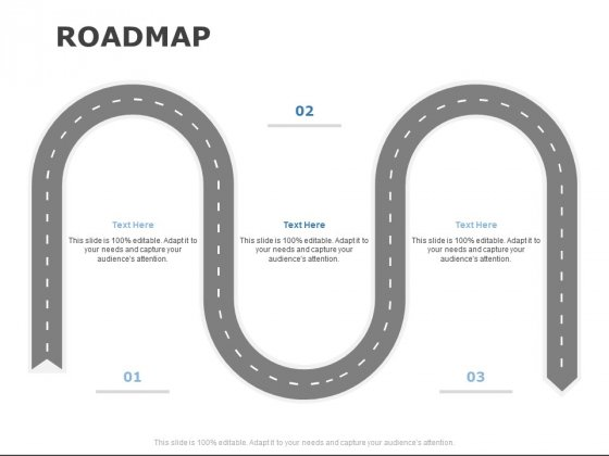 Roadmap Three Stage Ppt PowerPoint Presentation Infographics Layout