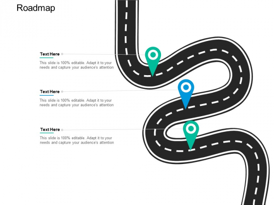 Roadmap Three Stage Ppt PowerPoint Presentation Professional Graphics Pictures