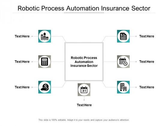 Robotic Process Automation Insurance Sector Ppt PowerPoint Presentation Gallery Professional Cpb Pdf