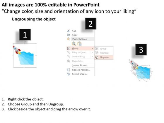 Rocket_Five_Text_Boxes_Diagram_For_Growth_Powerpoint_Template_2