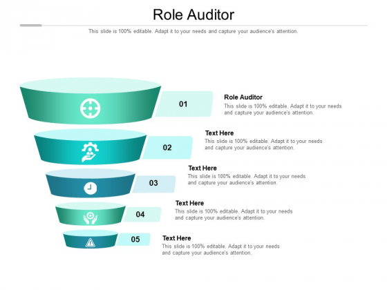 Role Auditor Ppt PowerPoint Presentation Icon Professional Cpb Pdf