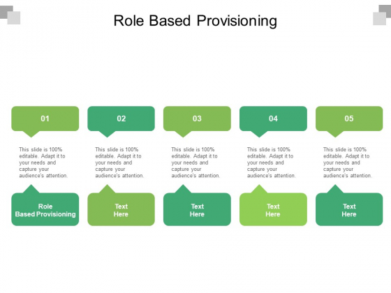 Role Based Provisioning Ppt PowerPoint Presentation Layouts Guidelines Cpb Pdf