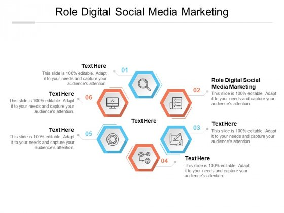 Role Digital Social Media Marketing Ppt PowerPoint Presentation Layouts Visual Aids Cpb