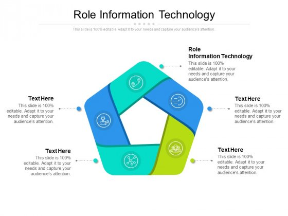 Role Information Technology Ppt PowerPoint Presentation Infographics Graphics Example Cpb