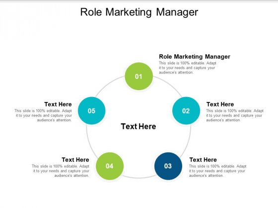 Role Marketing Manager Ppt PowerPoint Presentation Model Graphic Tips Cpb
