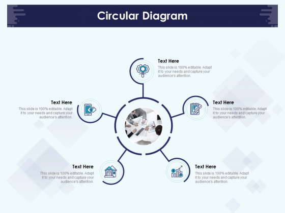 Role Of Human Resource In Workplace Culture Circular Diagram Demonstration PDF
