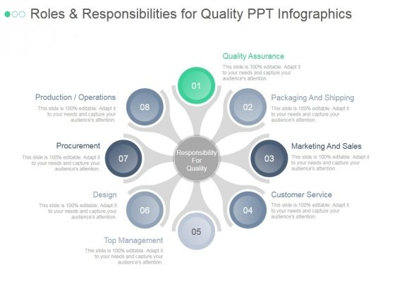 Roles And Responsibilities For Quality Ppt PowerPoint Presentation Tips