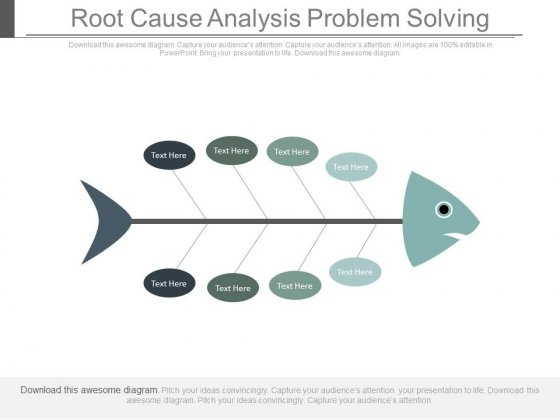 Root Cause Analysis Problem Solving Ppt Slides