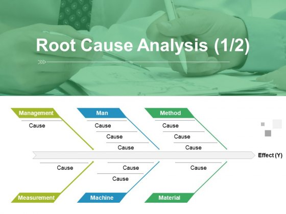 Root Cause Analysis Template 1 Ppt PowerPoint Presentation Gallery Graphic Tips