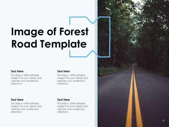 Route_Template_Mountain_And_Ocean_Directional_Arrow_Ppt_PowerPoint_Presentation_Complete_Deck_Slide_2