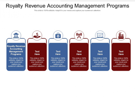 Royalty Revenue Accounting Management Programs Ppt PowerPoint Presentation Pictures File Formats Cpb Pdf