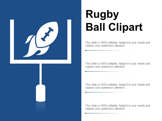 Rugby Ball Clipart Ppt PowerPoint Presentation Layouts Picture