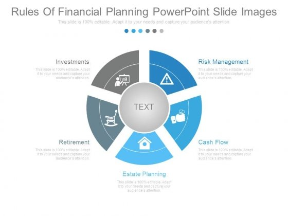 Rules Of Financial Planning Powerpoint Slide Images