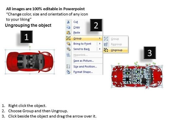 Race Red Beetle Car PowerPoint Slides And Ppt Diagram Templates