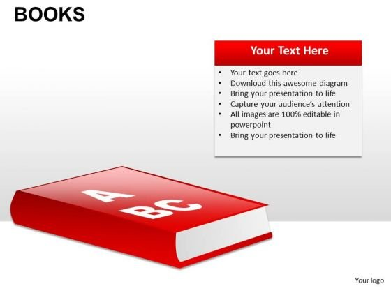 Reading Books PowerPoint Slides And Ppt Diagram Templates