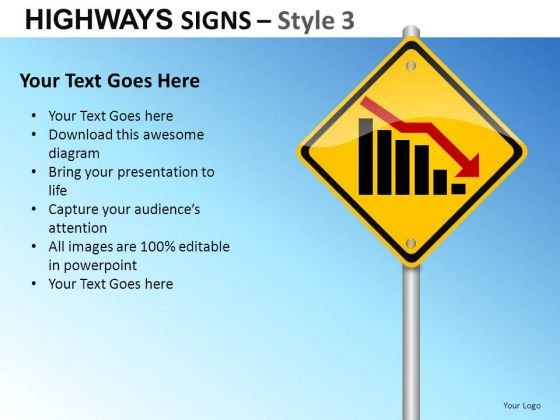 Recession Signs PowerPoint Slides And Ppt Diagram Templates