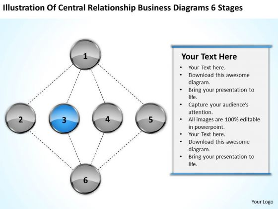 Relationship Business Diagrams 6 Stages Ppt How To Prepare Plan PowerPoint Templates