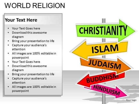 Religion Signs PowerPoint Slides And Ppt Diagram Templates