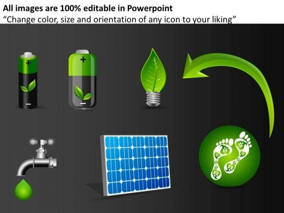 Renewable Energy PowerPoint Graphics Clipart Slides