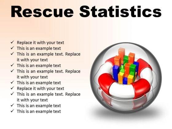 Rescue Statistics Business PowerPoint Presentation Slides C