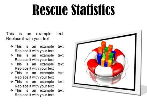 Rescue Statistics Business PowerPoint Presentation Slides F