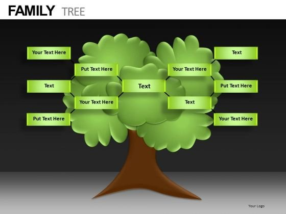 Research Family Tree PowerPoint Templates - PowerPoint Templates