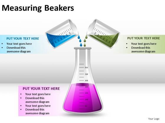 Research Measuring Beakers PowerPoint Slides And Ppt Diagram Templates