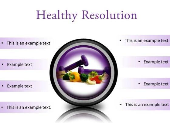 Resolution Health PowerPoint Presentation Slides Cc