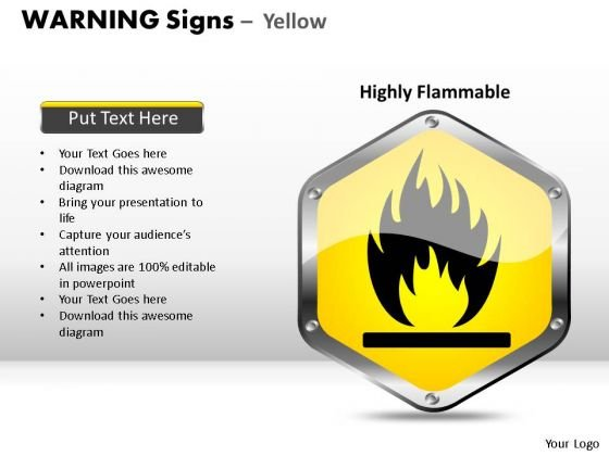 Restricted Warning Signs PowerPoint Slides And Ppt Diagram Templates