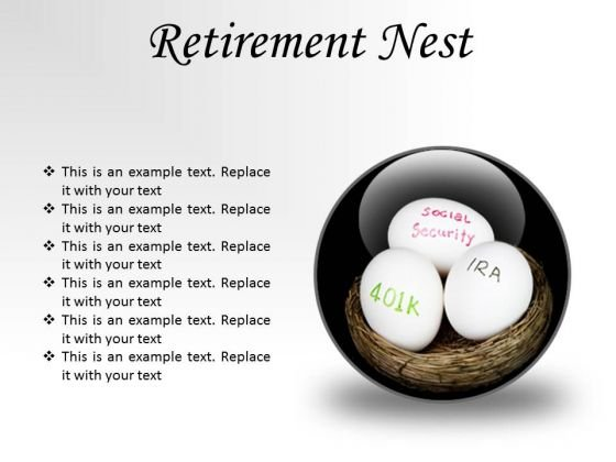 Retirement Nest Future PowerPoint Presentation Slides C