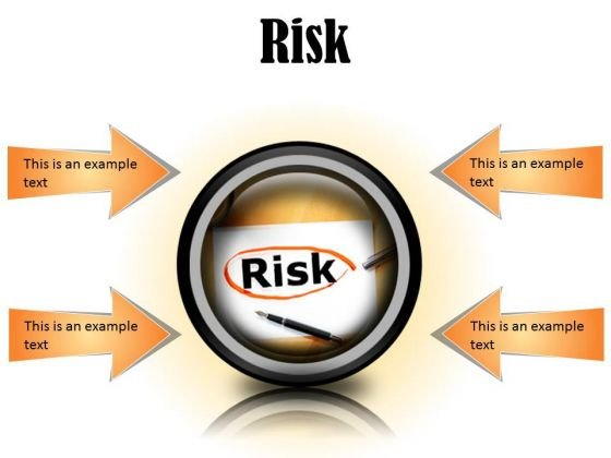 Risk Business PowerPoint Presentation Slides Cc