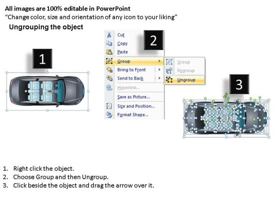 road_2_door_gray_car_top_powerpoint_slides_and_ppt_diagram_templates_2