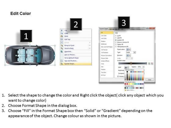 road_2_door_gray_car_top_powerpoint_slides_and_ppt_diagram_templates_3
