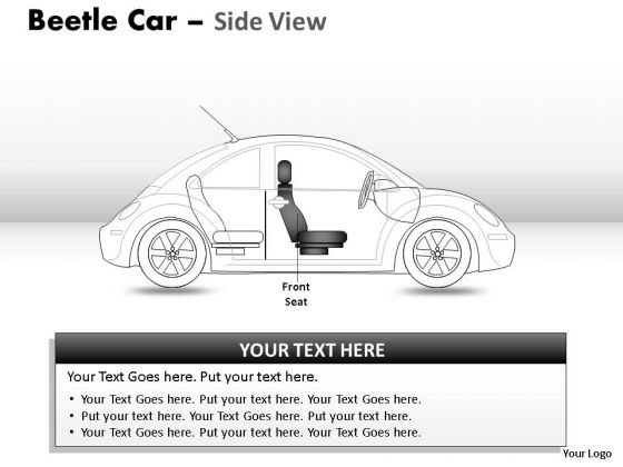 Road Red Beetle Car PowerPoint Slides And Ppt Diagram Templates