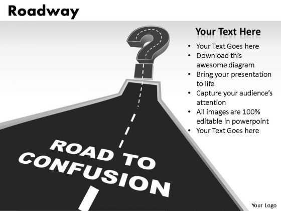 Road To Confusion PowerPoint Slides And Ppt Templates