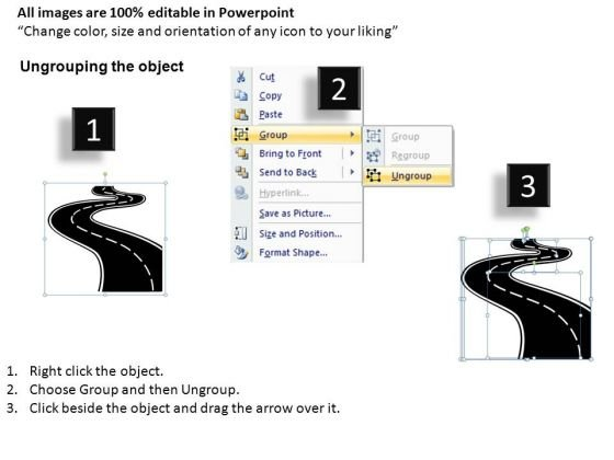 road_to_success_and_targets_powerpoint_slides_and_ppt_diagram_templates_2