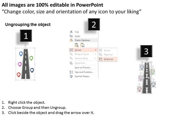 road_with_business_milestones_powerpoint_templates_2